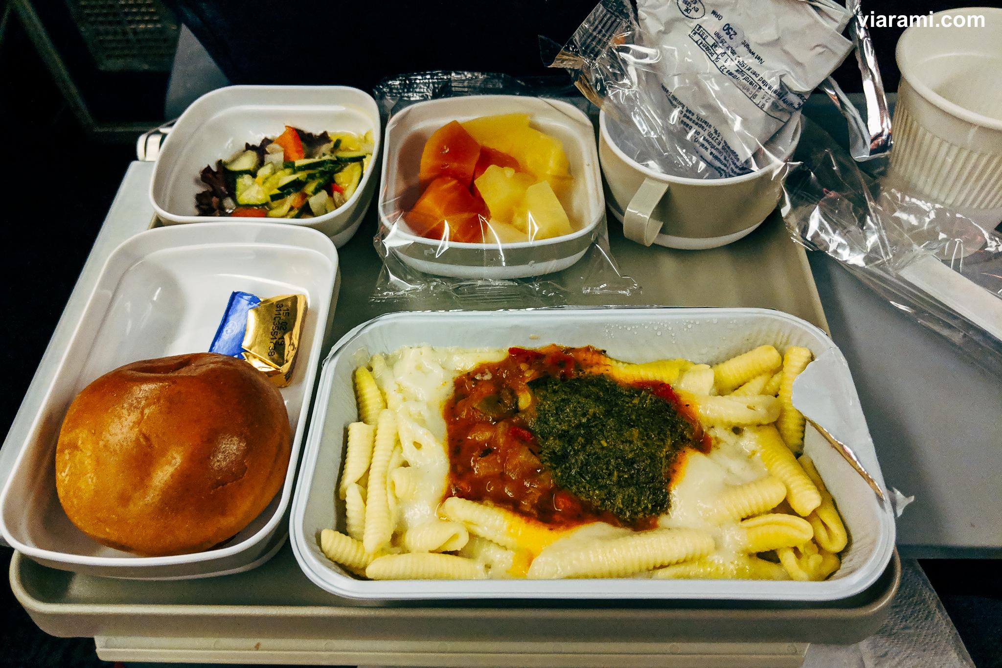 Menü bei Air China
