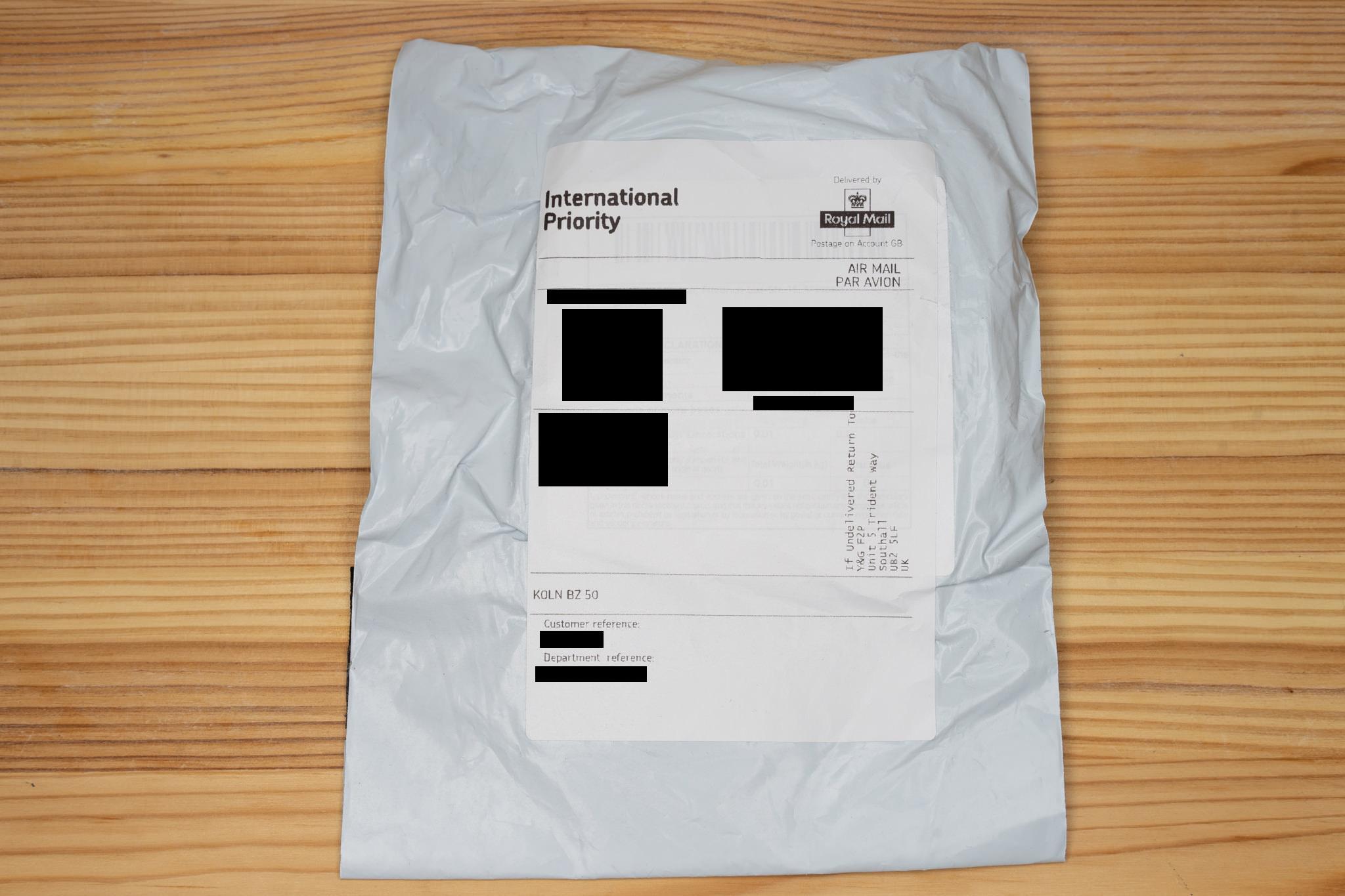 Das Paket von Aliexpress via Cainiao Super Economy Global